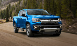 2021 Chevrolet Colorado for sale in Georgetown