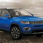 2019 Jeep Compass on Beach