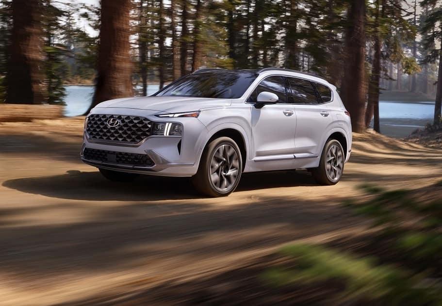 2021 Hyundai Santa Fe Driving