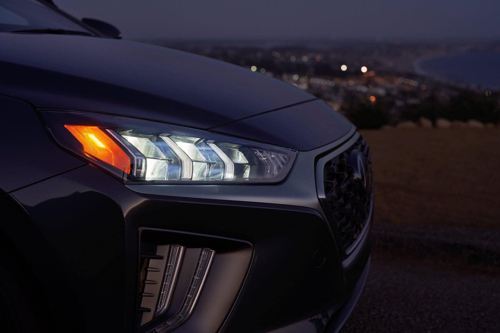 Hyundai Ioniq Hybrid Safety