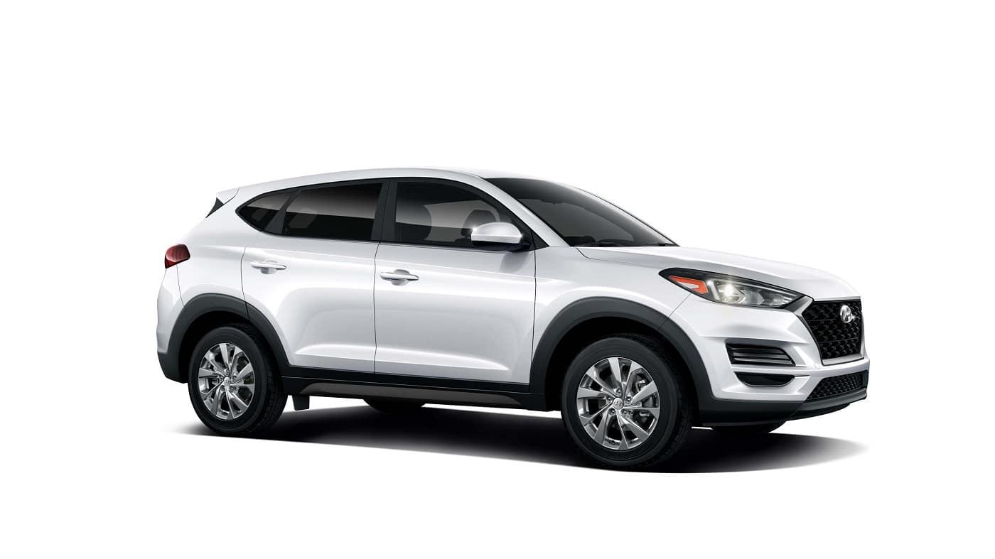 2021 Hyundai Tucson Cream White SE