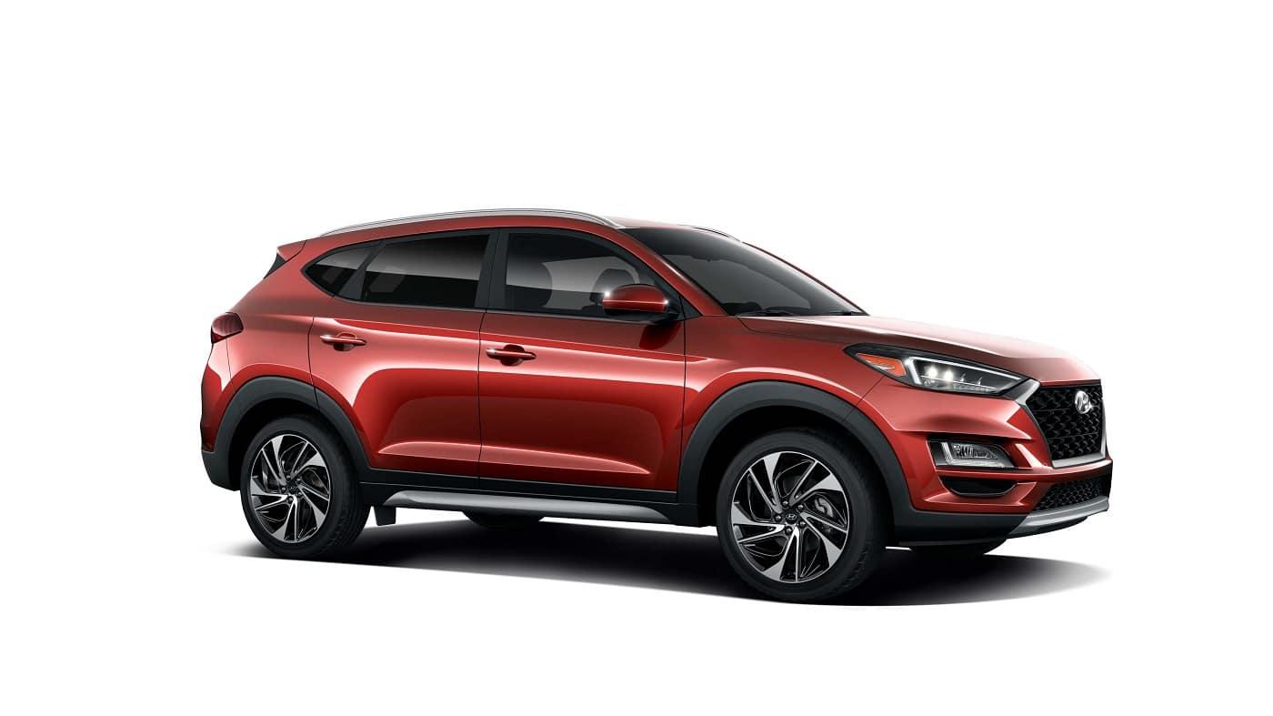 2021 Hyundai Tucson Crimson Red Sport