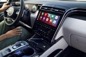 2022 Hyundai Tucson Infotainment