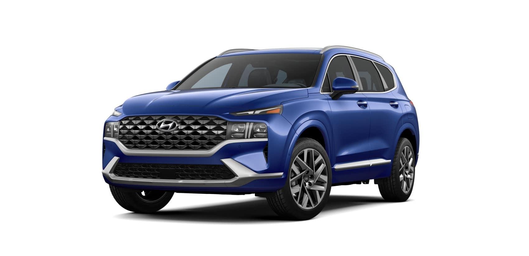 Hyundai Santa Fe Stormy Sea Blue