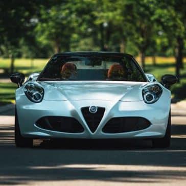 2020 Alfa Romeo 4C Spider Grill