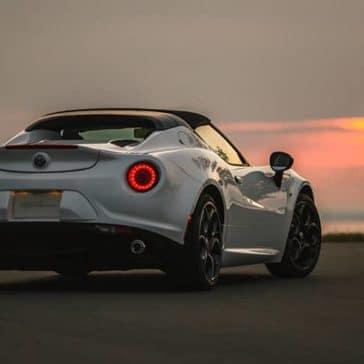 2020 Alfa Romeo 4C Spider Rear