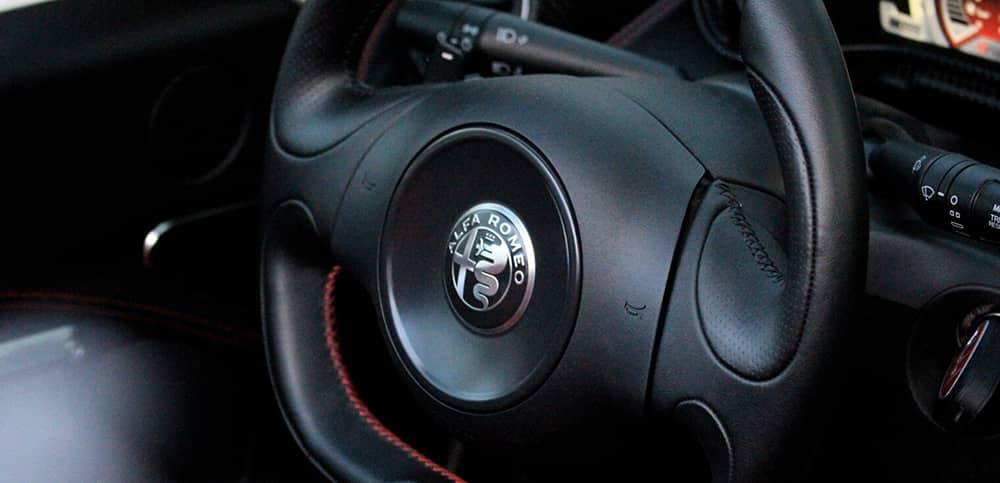 2020 Alfa Romeo 4C Spider Steering Wheel
