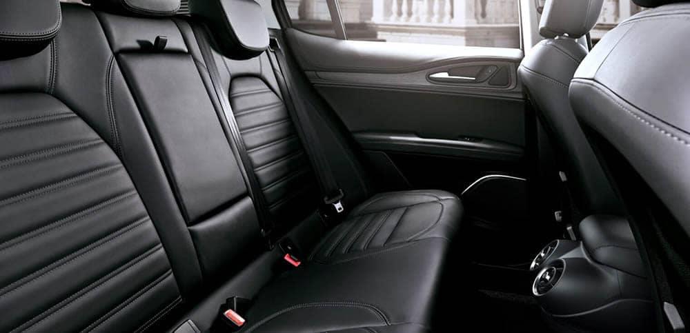 2020 Alfa Romeo Stelvio Back Seat