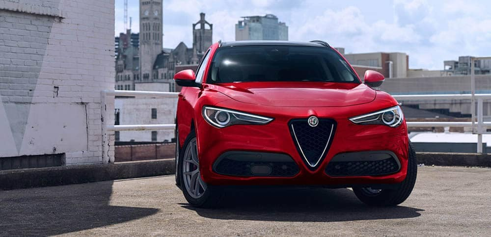 2020 Alfa Romeo Stelvio Grill