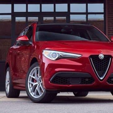 2020 Alfa Romeo Stelvio Parked