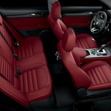 2020 Alfa Romeo Stelvio Seating