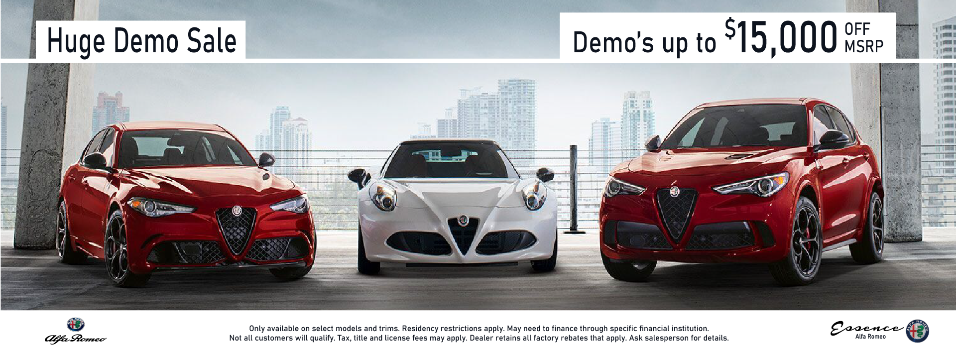 Alfa Romeo Demo Sale August_1