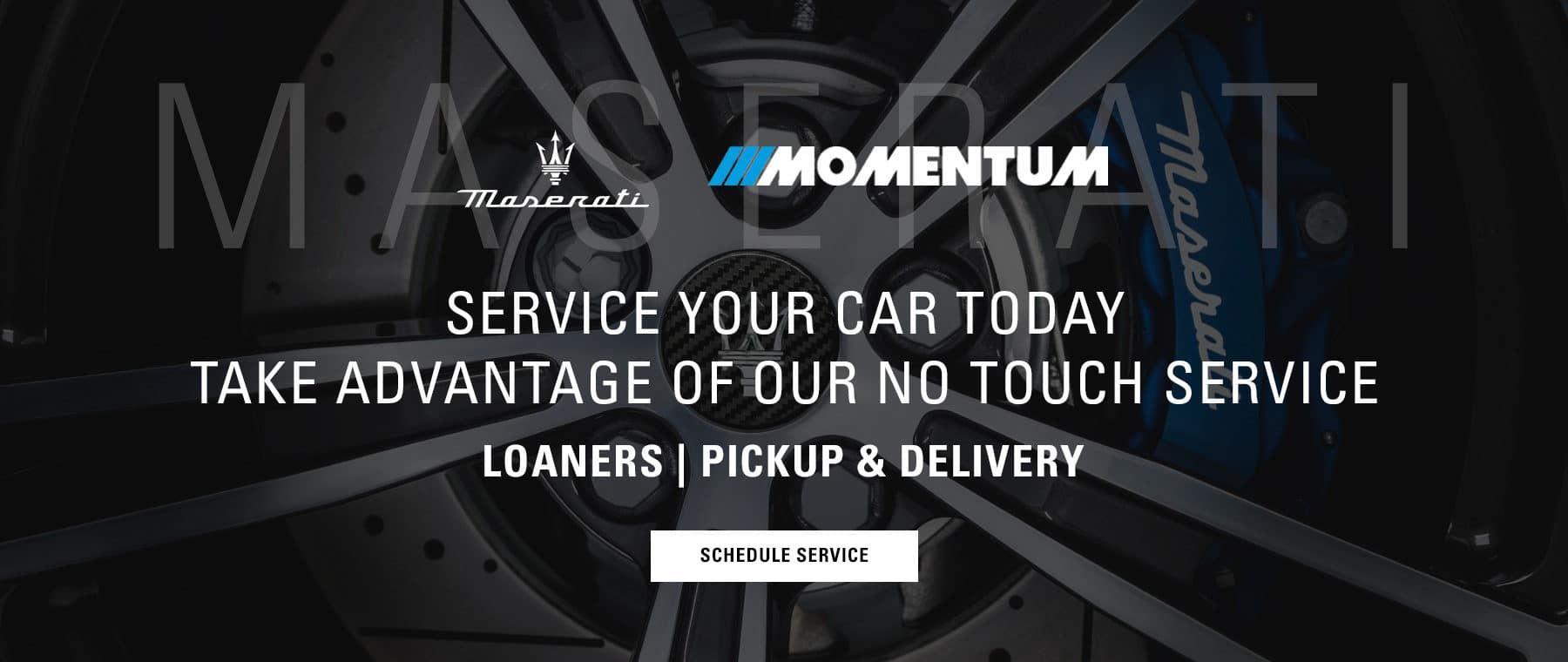 Service your car today, pick up and delivery