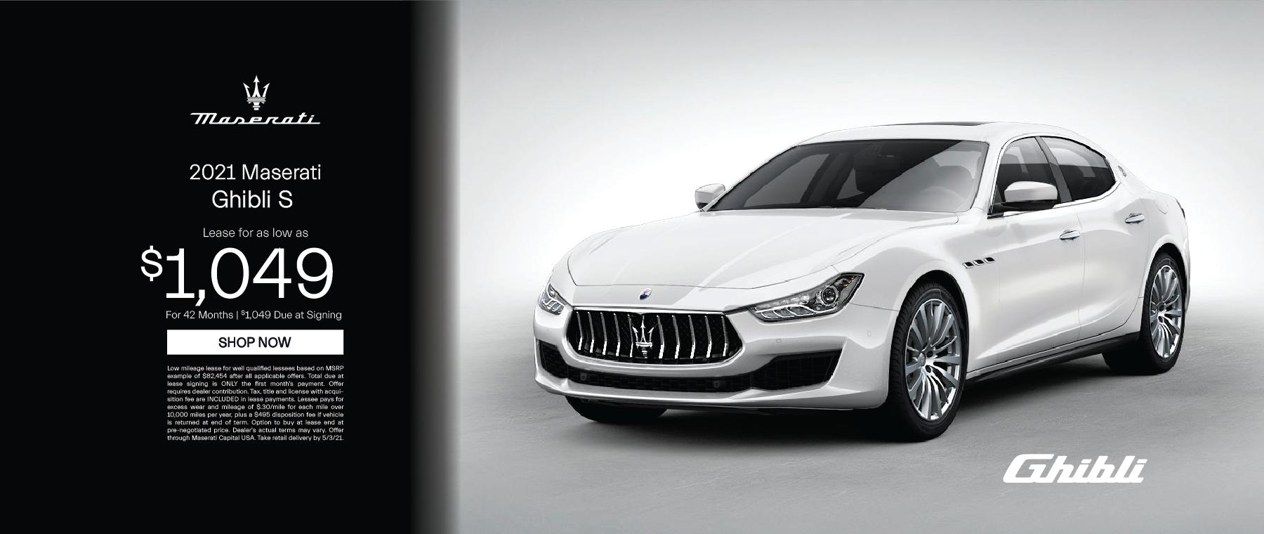 Essense Maserati – Ghilbil – April 2021