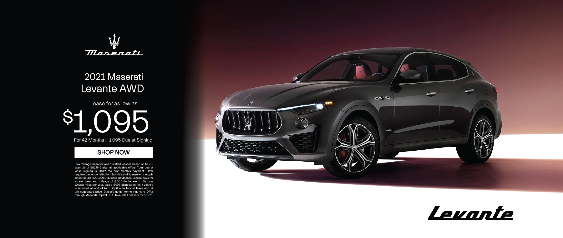 Essense Maserati – Levante – April 2021