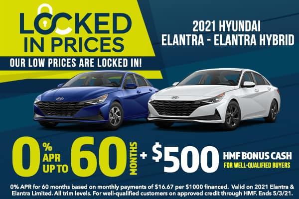2021 Elantra & Elantra Hybrid