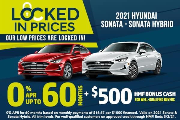 2021 Sonata & Sonata Hybrid