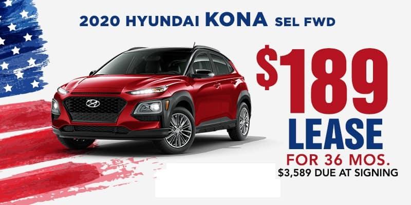 New 2020 Hyundai Kona SEL FWD