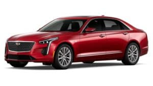 Red 2019 Cadillac CT6 in Fort Worth TX