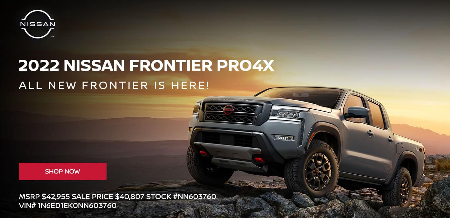 """2022 Nissan Frontier Pro4X """"All New Frontier is Here!"""""""