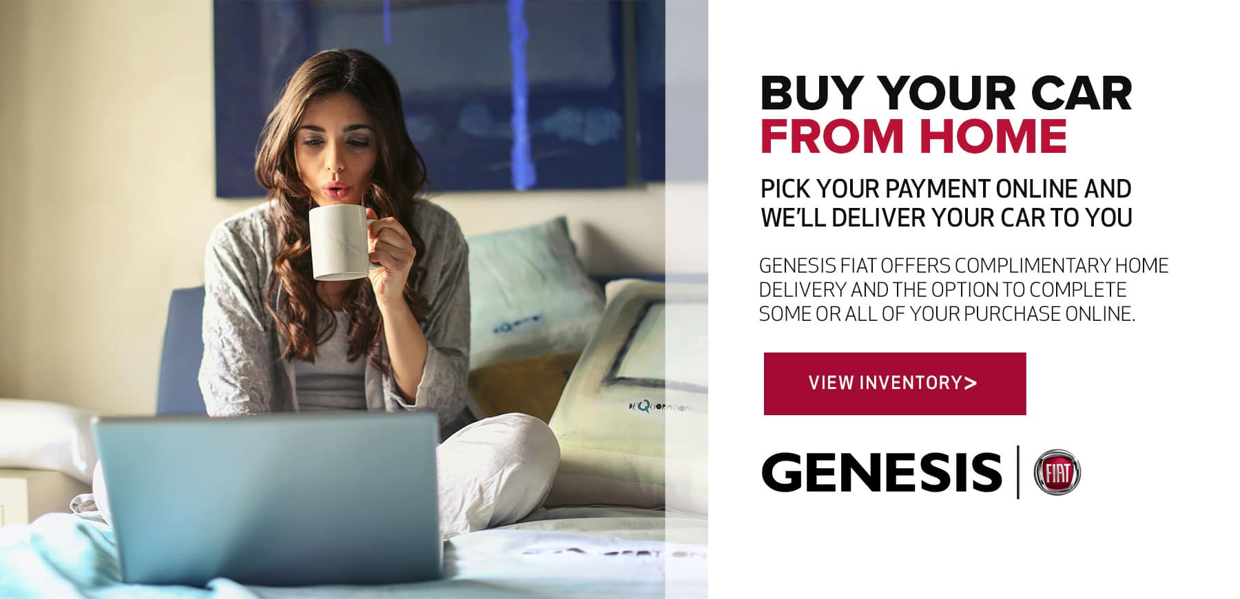 Shop from home with Genesis FIAT