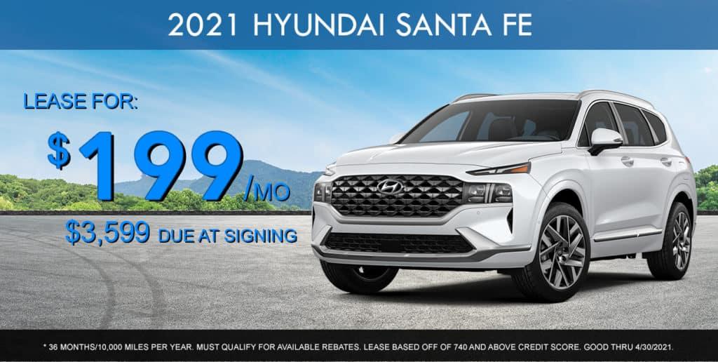 SPECIAL New 2021 Hyundai Santa Fe
