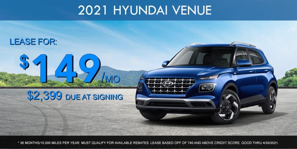 SPECIAL New 2021 Hyundai Venue