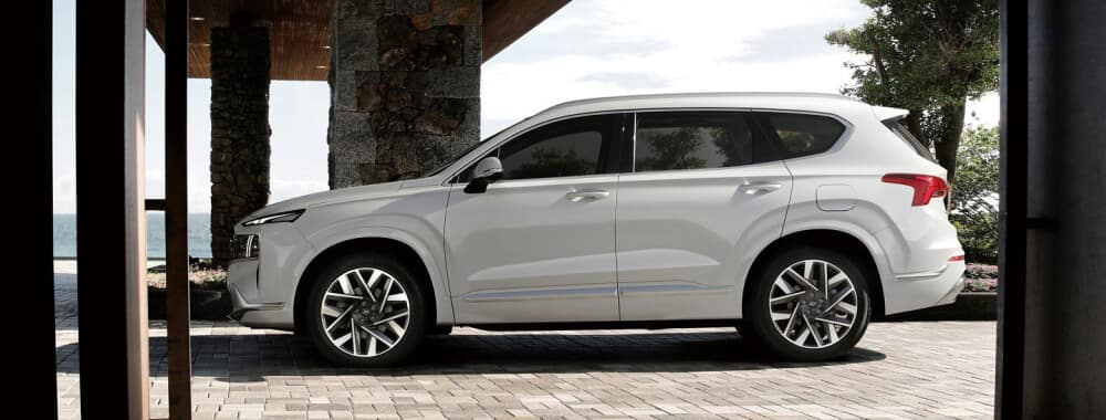 2021 Hyundai Santa Fe Side Profile View