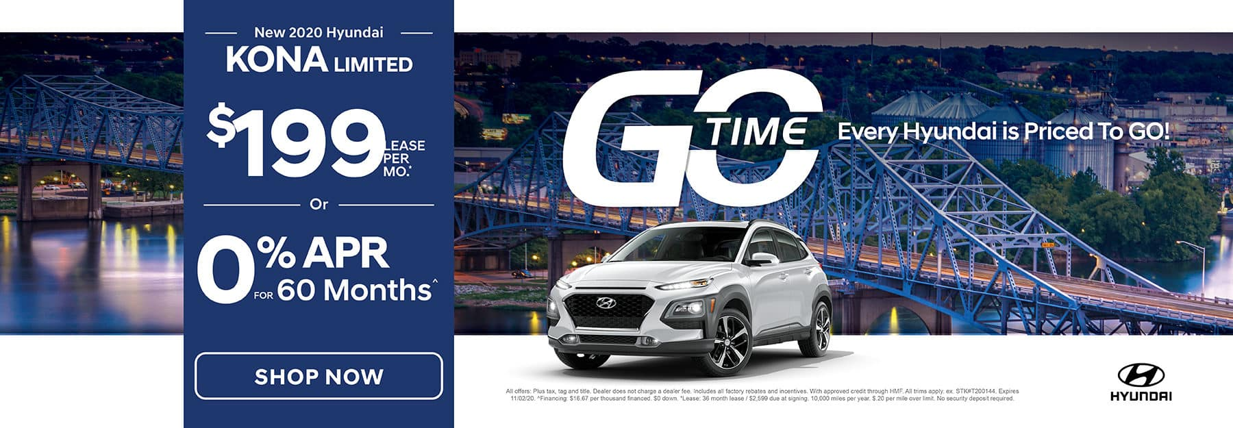 GO TIME - New 2020 Hyundai Kona