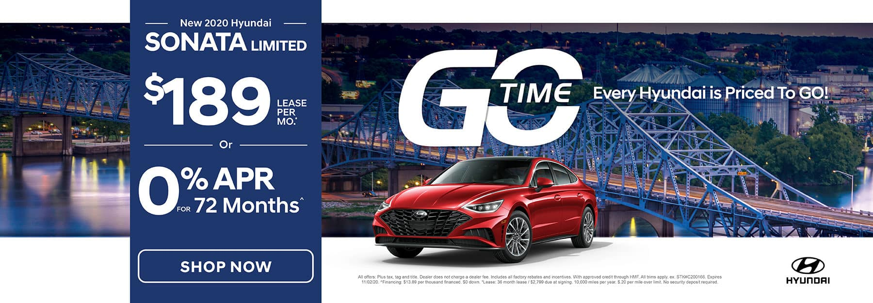GO TIME - New 2020 Hyundai Sonata