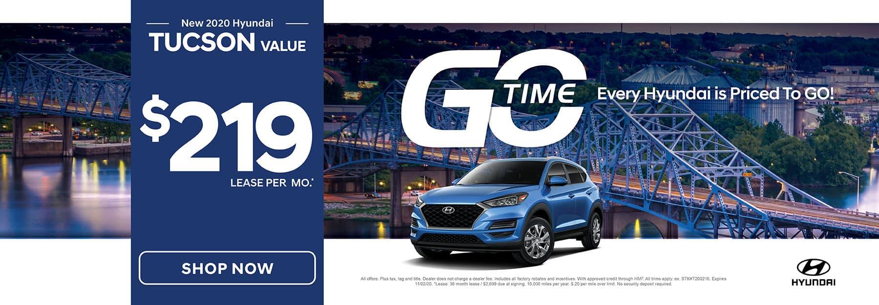 GO TIME - New 2020 Hyundai Tucson