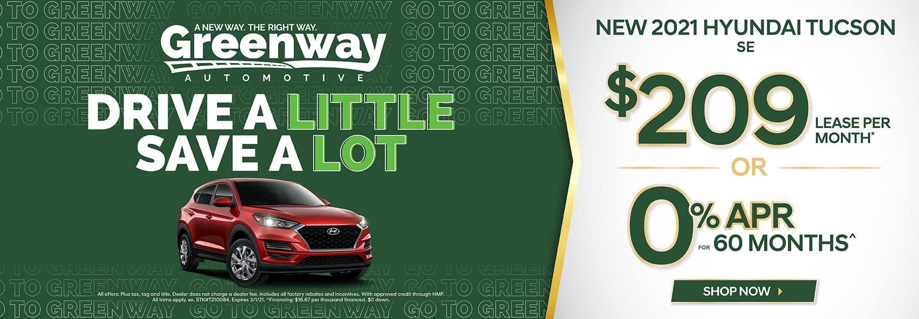 New 2021 Hyundai Tucson - Drive a Little Save a Lot!