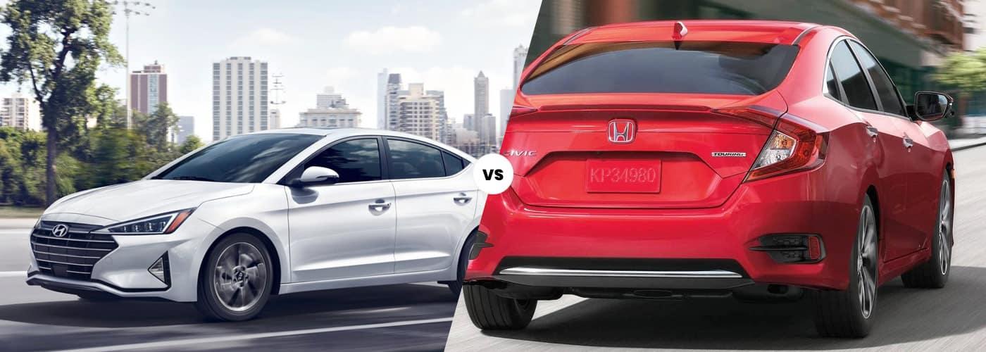 2020 Hyundai Elantra vs. 2020 Honda Civic