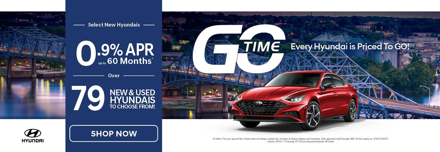 Go Time Select New Hyundais