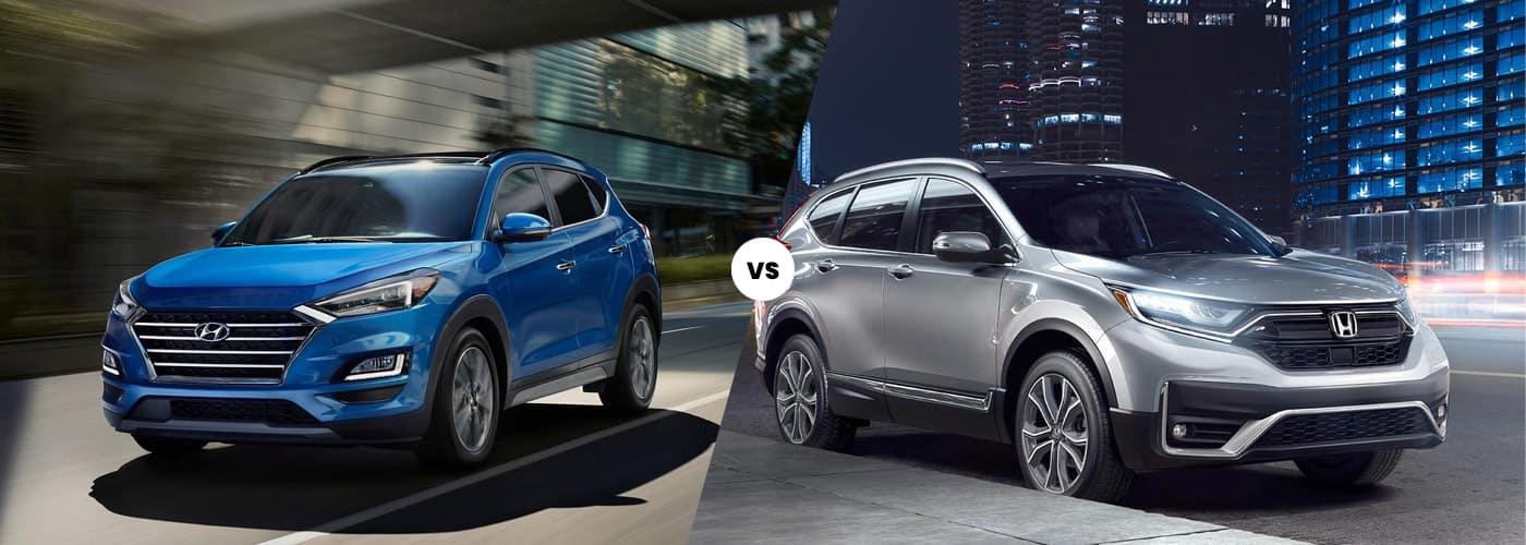 Hyundai Tucson vs. Honda CR-V