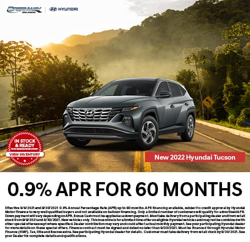 New 2021 Hyundai Tucson