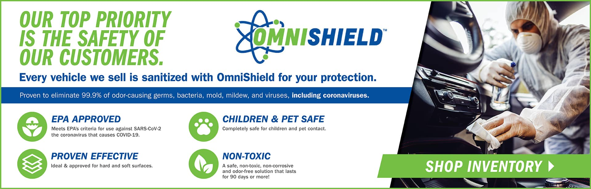 Omnishield protection