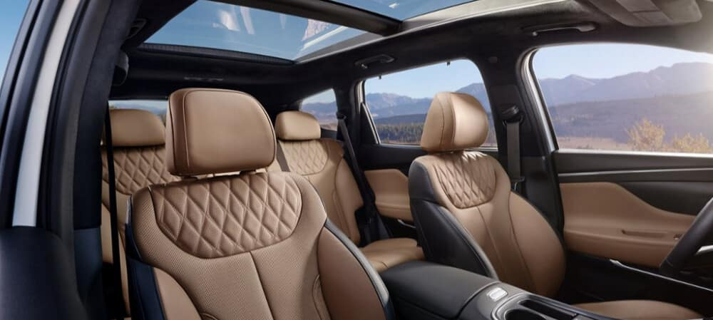 2021 Hyundai Sante Fe Interior