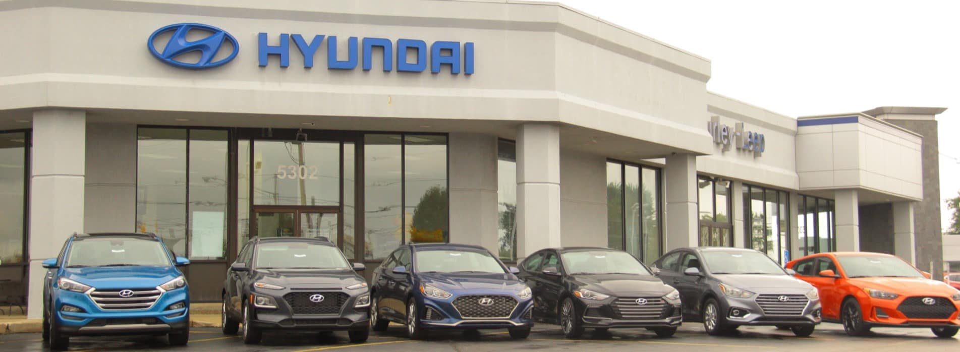 GL Hyundai Store Front