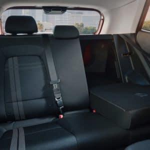 venue folded back seat