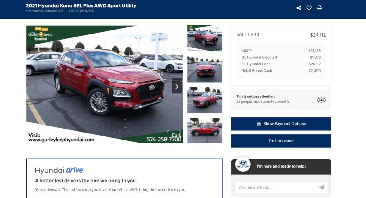 Smart Hyundai Pricing