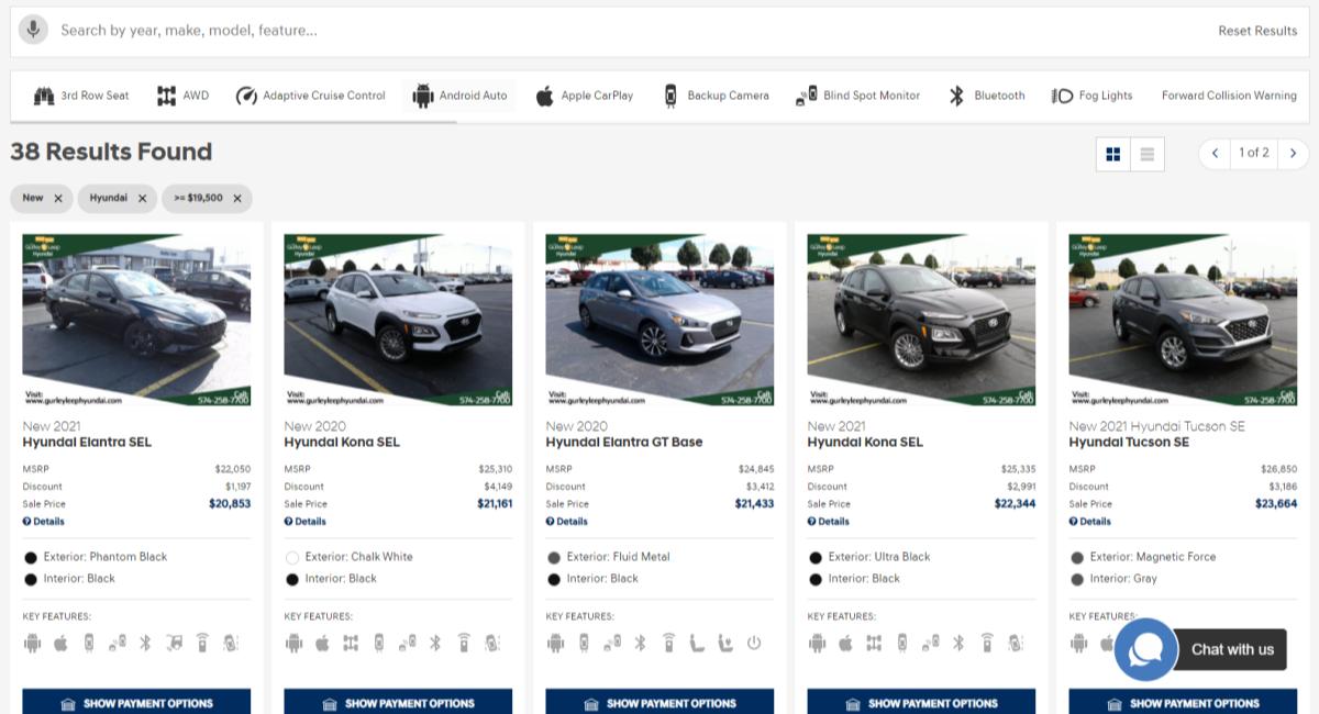 Fast Pass - Smart Hyundai Inventory