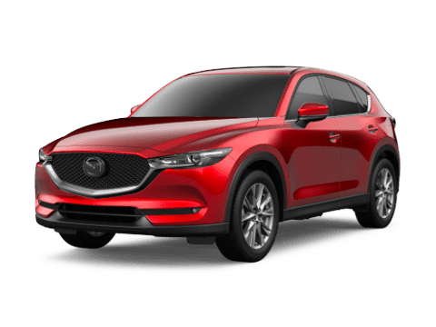 Angled view of the Mazda CX-5