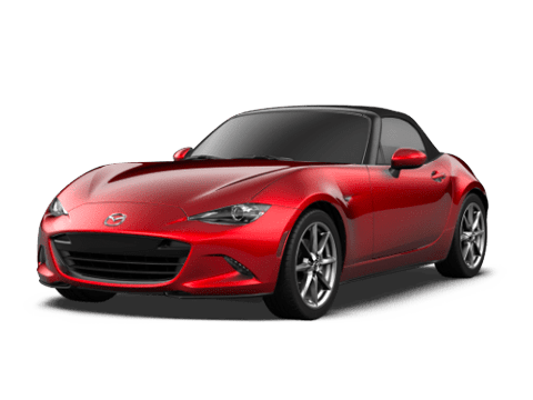 Angled view of the Mazda MX-5 Miata
