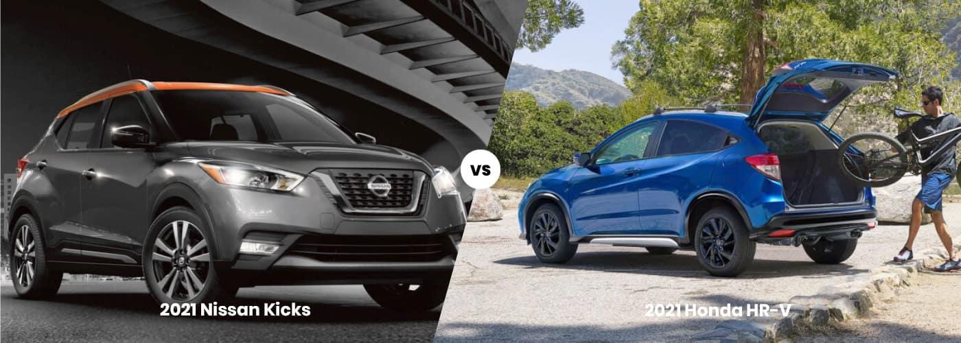 2021 Nissan Kicks vs 2021 Honda HR-V comparison