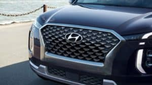2021 Palisade Calligraphy Premium Front Grill