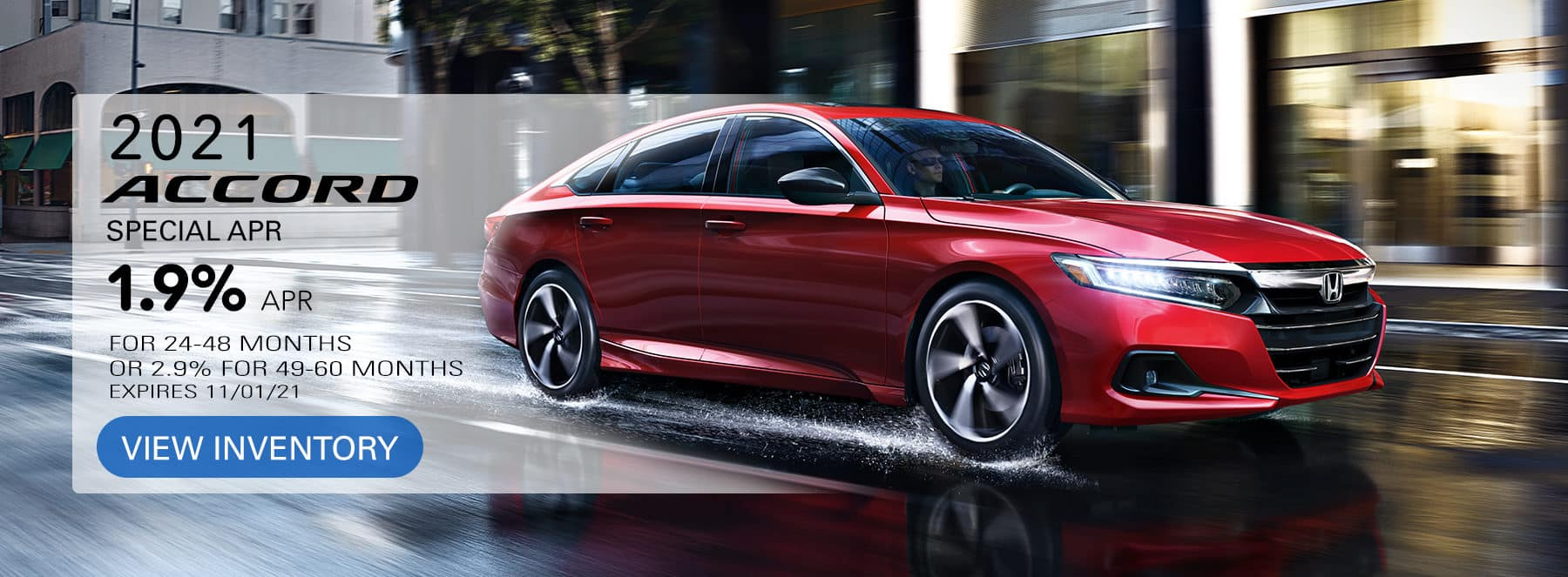Accord Financing Offer
