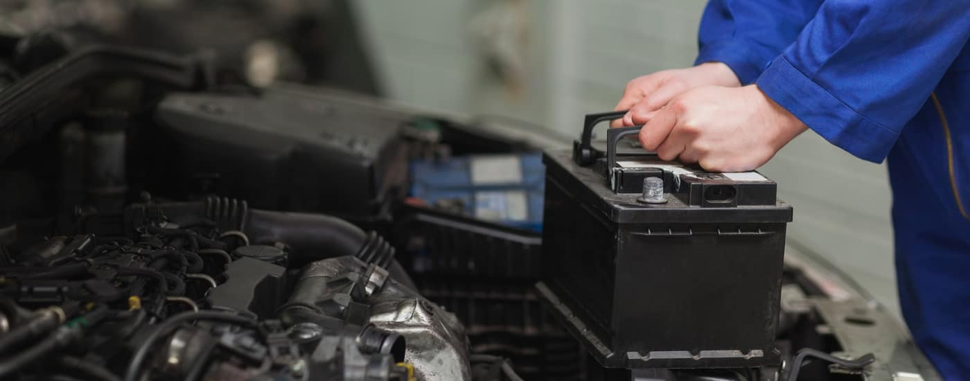 changing a car battery