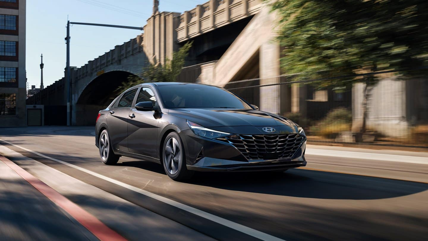 The 2021 Hyundai Elantra available near Nashville, TN.