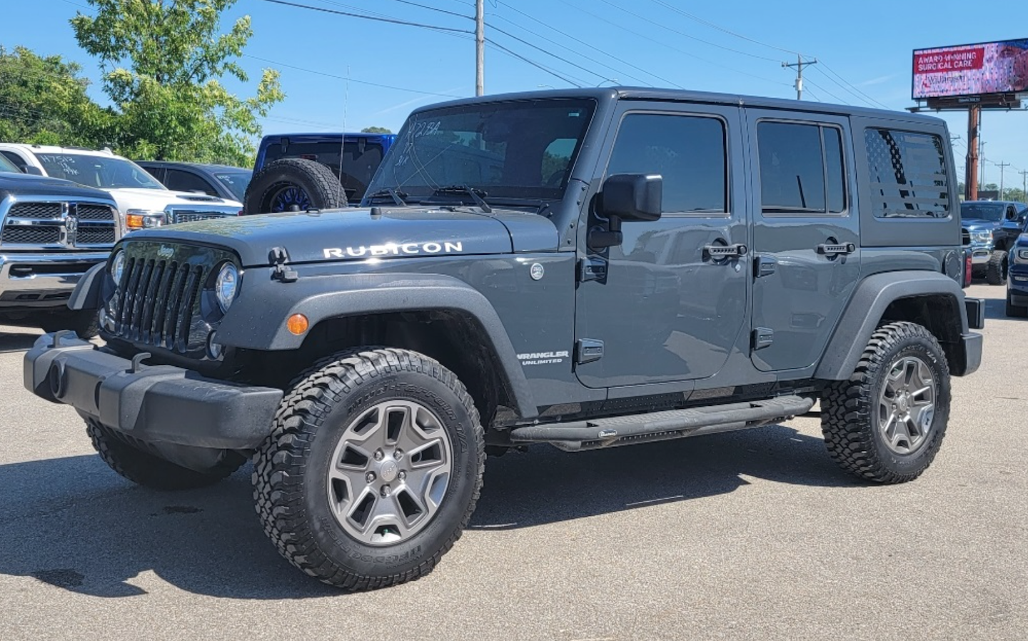 A used Jeep Wrangler Rubicon available at Hyundai of Columbia